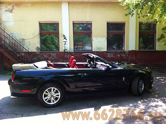 Черный кабриолет